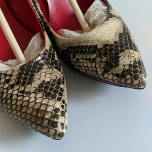 Guess Shoes - Never Worn Guess Snake Skin Platform Heels
